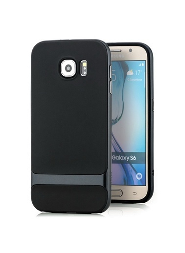 Royce Series Hybrid Samsung Galaxy S6 Kılıf-Rock